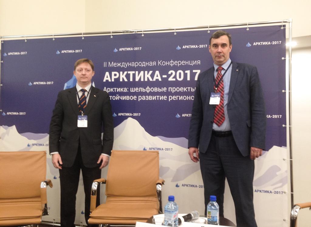 Делегация ТУСУРа принимает участие вработе форума «Арктика – 2017»