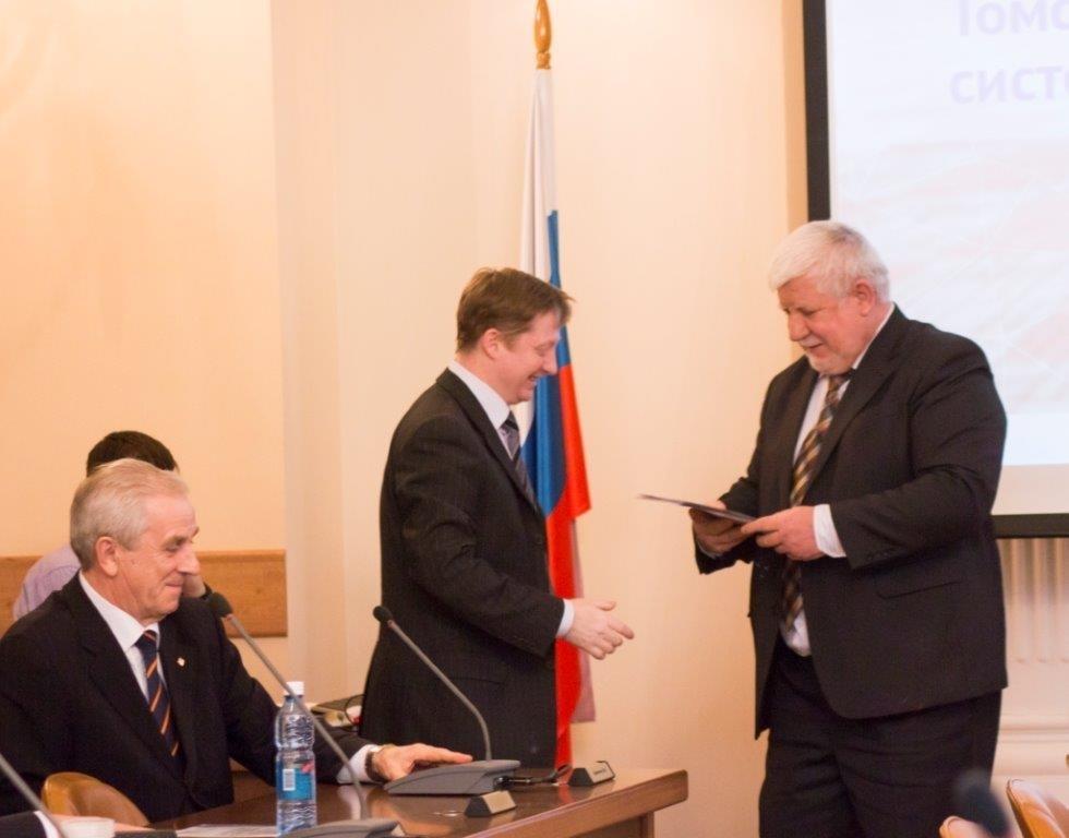 Учёным ТУСУРа вручены почётные грамоты ТНЦМАИ