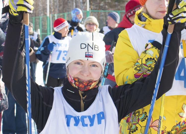 Лыжная гонка сотрудников ТУСУРа – 2017