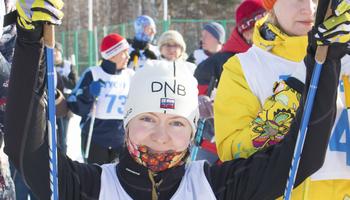 Лыжная гонка сотрудников ТУСУРа