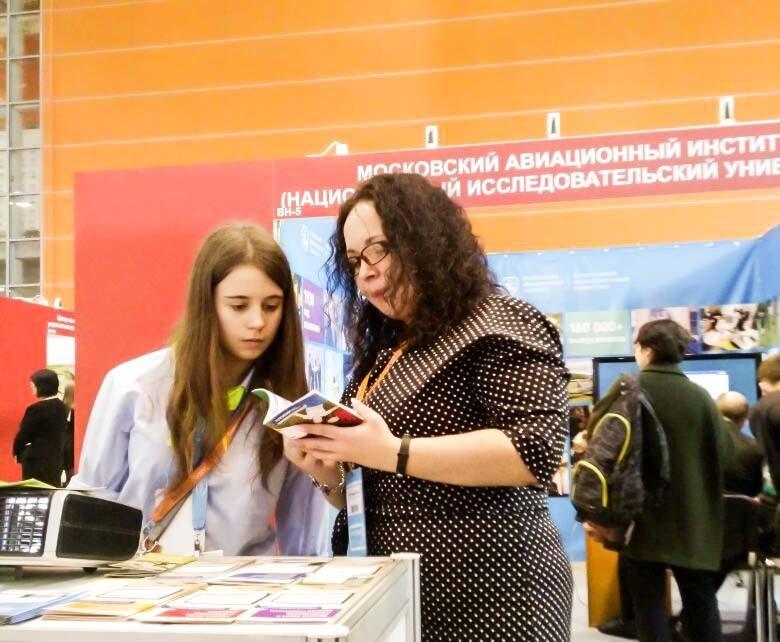 ТУСУР принимает участие вМеждународном салоне образования