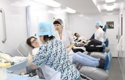 Тусуровцы пополнили банк крови на30 литров входе акции «День донора»