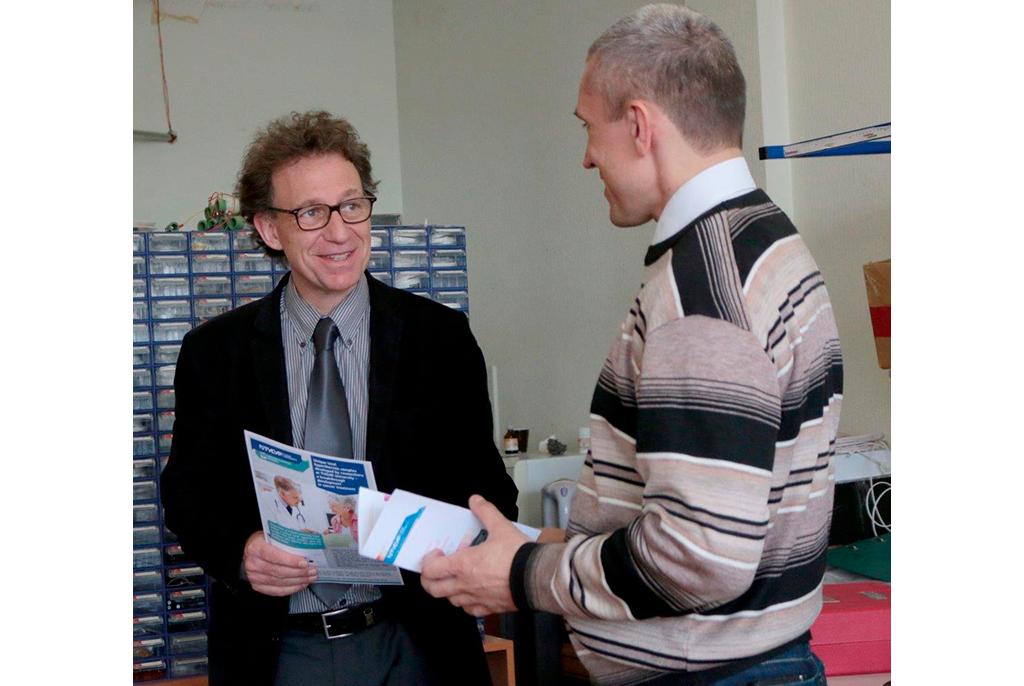 ТУСУР срабочим визитом посетил директор старейшей инженерной школы Франции