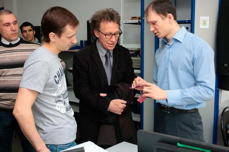В программе визита профессора Терре в ТУСУР: работа в современных лабораториях и подразделениях университета