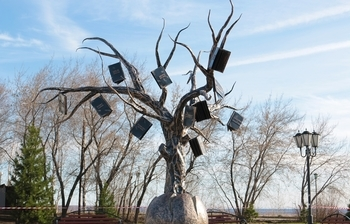 Tree of Knowledge was unveiled on TUSUR campus