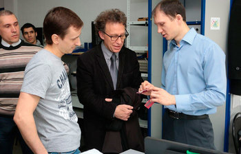 Director of the oldest engineering school of France visited TUSUR