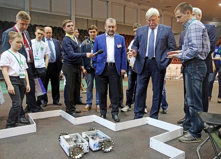 Национальный этап соревнований поробототехнике RoboCup Russia Open 2017 вТомске