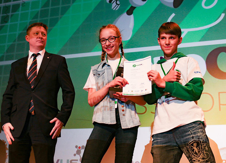 Награждение победителей национального этапа RoboCup Russia Open 2017