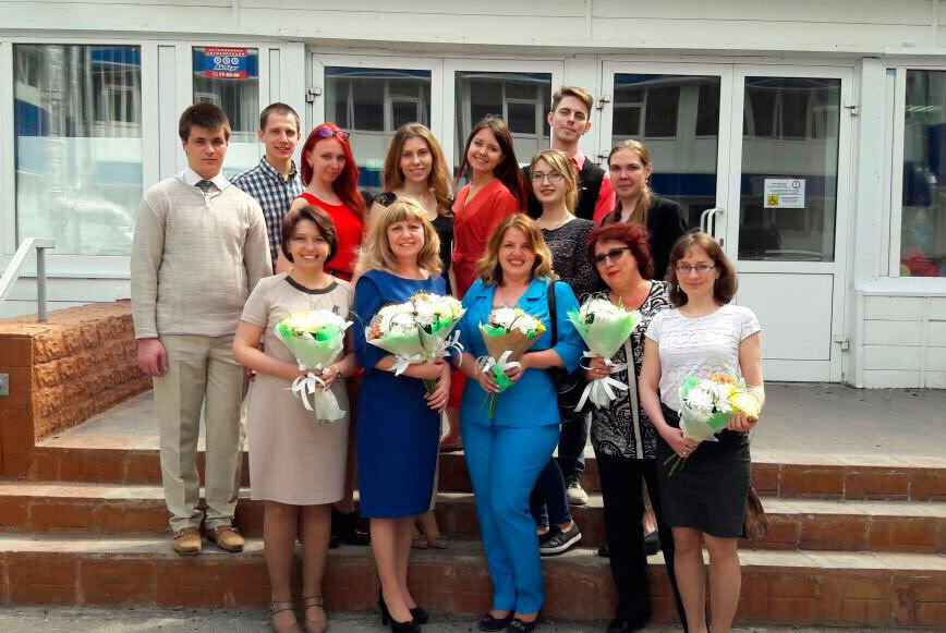 Вучебно-методическом центре «Совершенствование языковой подготовки» состоялась защита дипломов одополнительном образовании