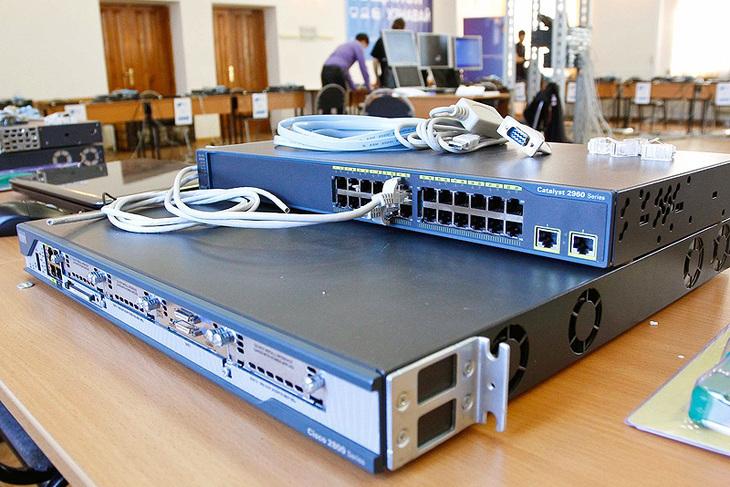 Вы работаете с реальным сетевым оборудованием Cisco
