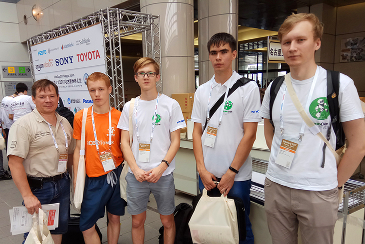 ТУСУР – инициатор проведения соревнований RoboCup в России