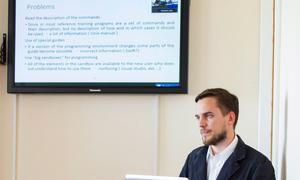 Master Student Defends Thesis Under TUSUR-Ritsumeikan Dual Degree Program