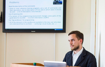 Master Student Defends Thesis Under TUSUR-Ritsumeikan Dual Degree Program