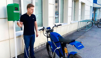 TUSUR Develops and Installs Tomsk's First EV Charging Station