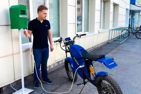 TUSUR Develops and Installs Tomsk's First EV Charging Station