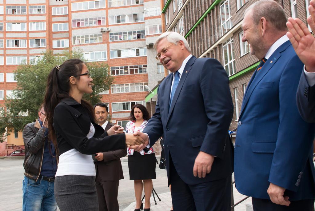 Успешный «запуск»: ТУСУР открыл новое общежитие