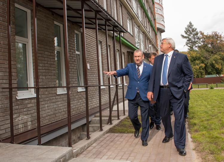 Открытие нового общежития ТУСУРа