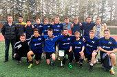 Команда ТУСУРа представит Томск вполуфинальном этапе Национальной студенческой футбольной лиги