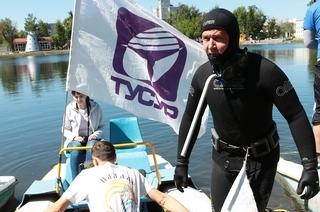 Аквалангисты ТУСУРа впервые очистят дноозера Боярское