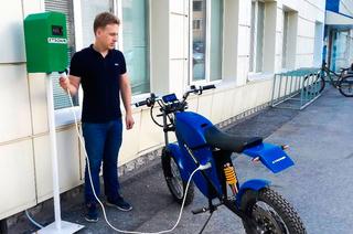 Электроцикл, готовый ксерийному выпуску, разработали вТУСУРе