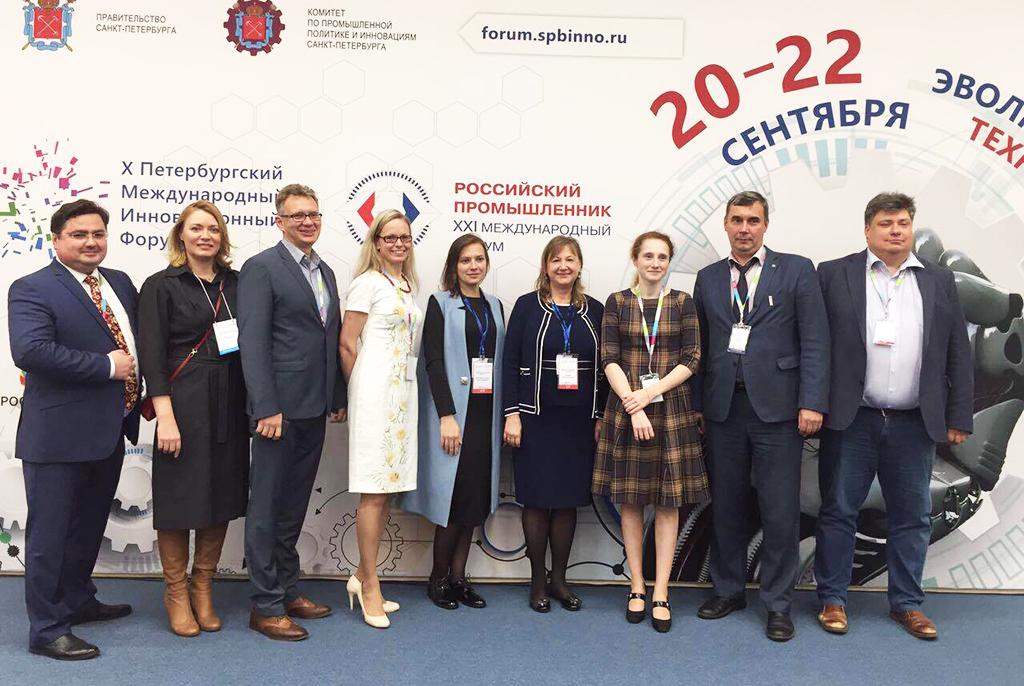 Начальник инновационного управления ТУСУРа принял участие вработе Петербургского международного инновационного форума