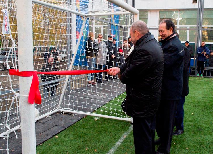 Открытие новой спортивной площадки ТУСУРа