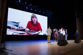 Игра сдеканами: первокурсники ТУСУРа отгадывали молодёжный сленг пообъяснениям деканов