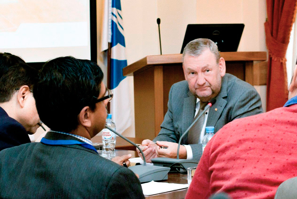 Ректор ТУСУРа Александр Шелупанов: «У ТУСУРа ииндийских вузов много общих темиинтересов»