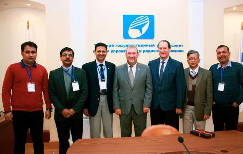 Ректор ТУСУРа Александр Шелупанов встретился с делегацией представителей индийских университетов, прибывших в Томск с целью найти партнёров, заинтересованных в сотрудничестве