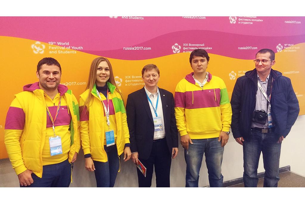Научная делегация ТУСУРа – нафестивале молодёжи истудентов