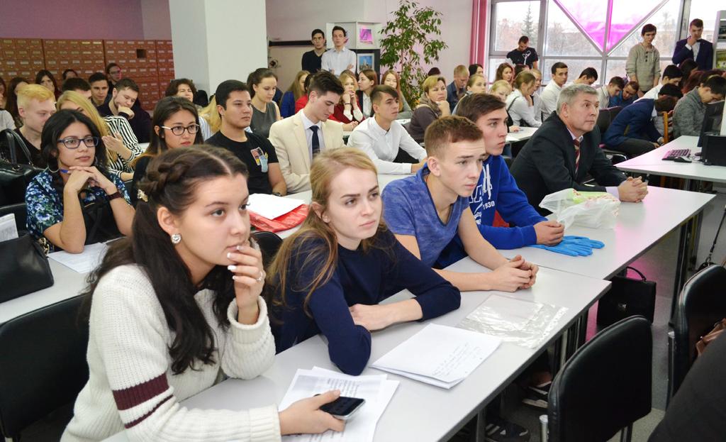 Студенты – участники конкурса