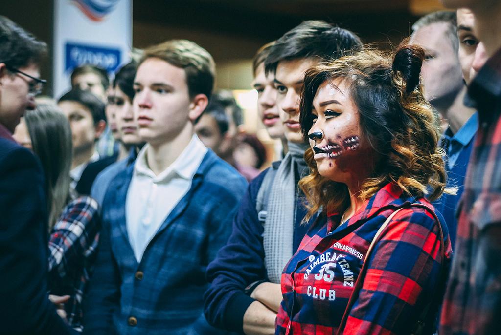 Посвящение первокурсников ФЭТ– 2017: хэллоуинские приключения
