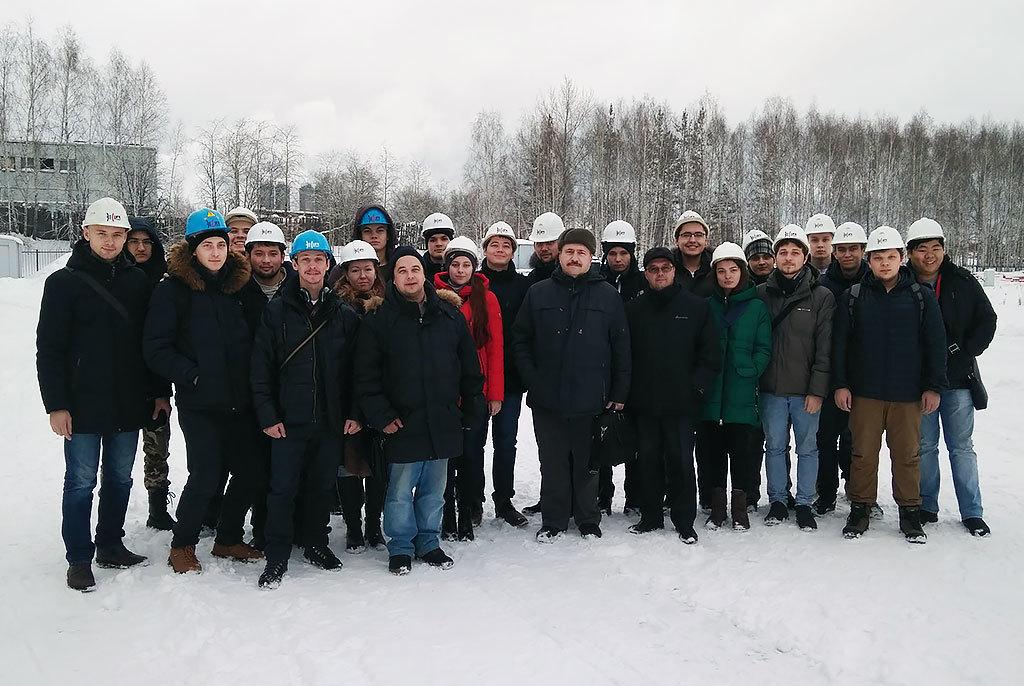 Длястудентов ФИТсостоялась экскурсия назавод металлоконструкций компании «ЭлеСи»