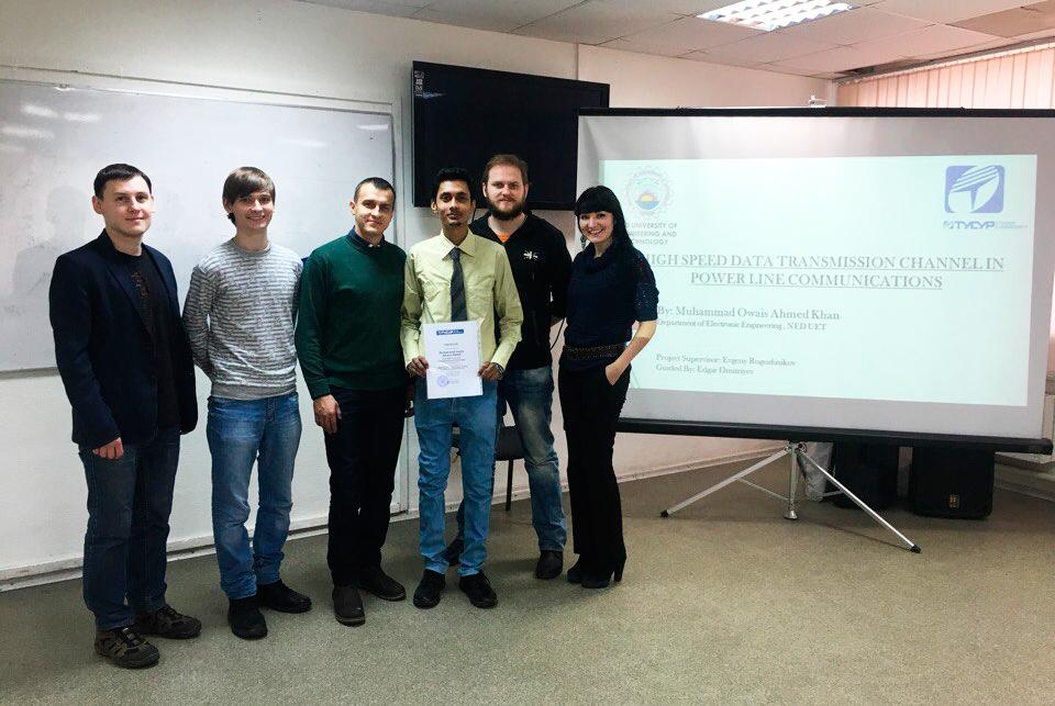 ВТУСУРе успешно защитил исследовательскую работу студент изПакистана