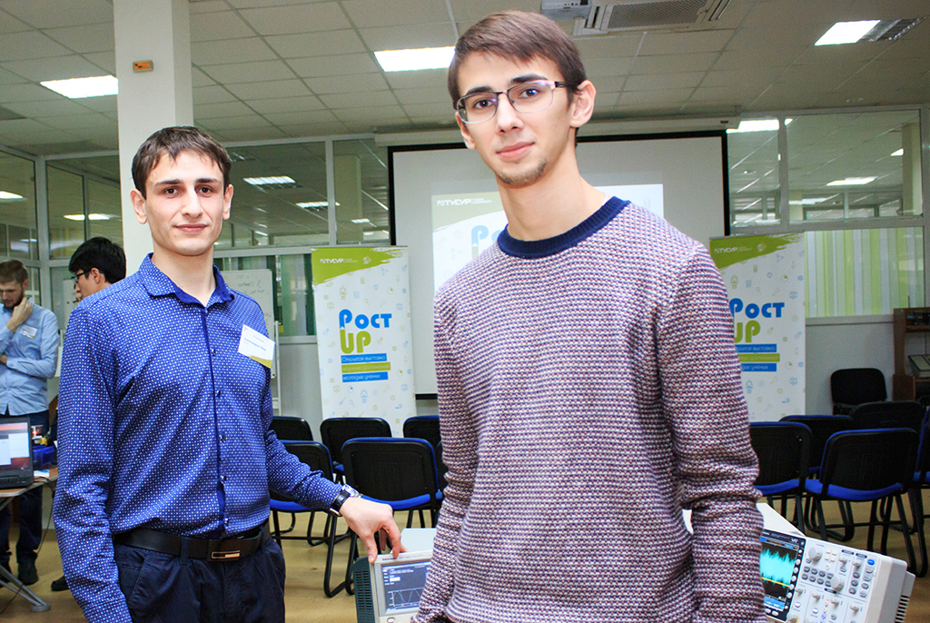 Атмосфера инноваций: вТУСУРе молодые учёные представили научные проекты навыставке «Рост.UP»