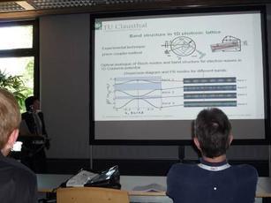 Германия, К. Шандарова выступает с докладом на научном семинаре в Технологическом университете (г. Клаустхал)