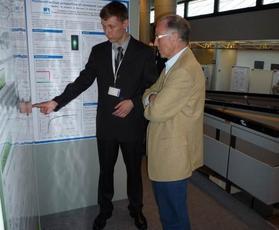 Германия, А. Каншу выступает с докладом на научном семинаре в институте Гельмута-Шмита (г. Гамбург)
