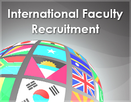 International faculty Recruitment