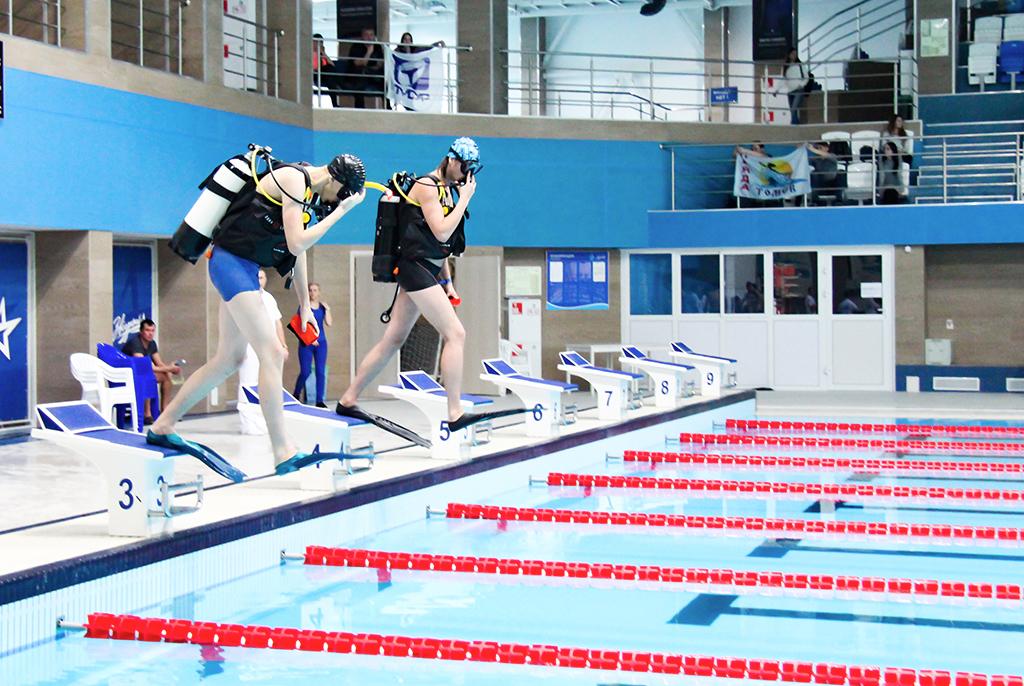 Спортсмены ТУСУРа – лауреаты соревнований поподводному спорту «Снежные ласты»