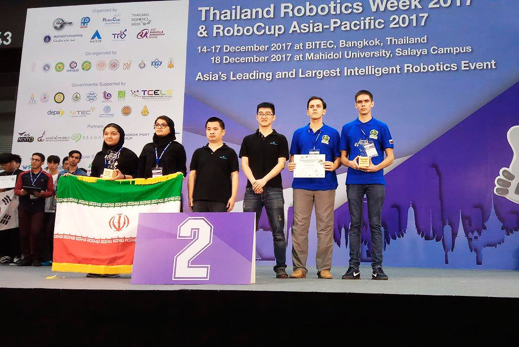 Команда ТУСУРа – вице-чемпион первого чемпионата RoboCup Азиатско-Тихоокеанского региона