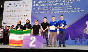 TUSUR Team A Runner-Up At RoboCup Asia-Pacific