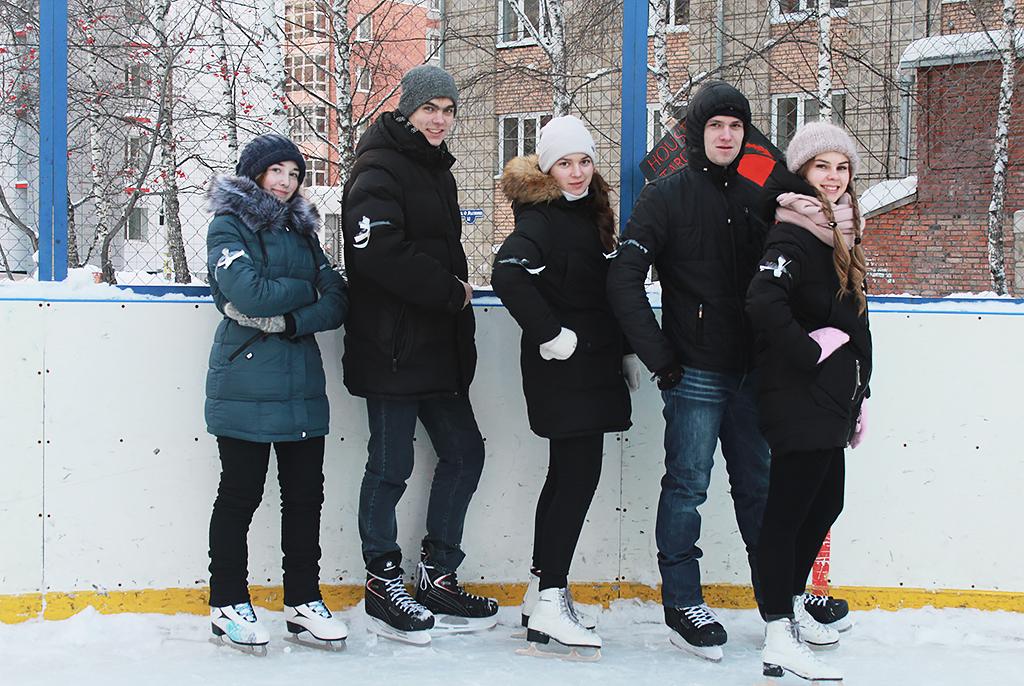 ВТУСУРе состоялось первенство покатанию наконьках «Зима близко…»