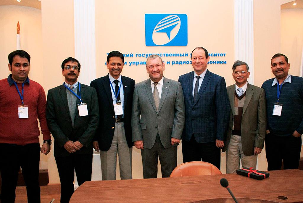 ТУСУР развивает сотрудничество сведущим техническим институтом Индии