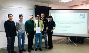 Pakistani Student Presents Internship Project atTUSUR