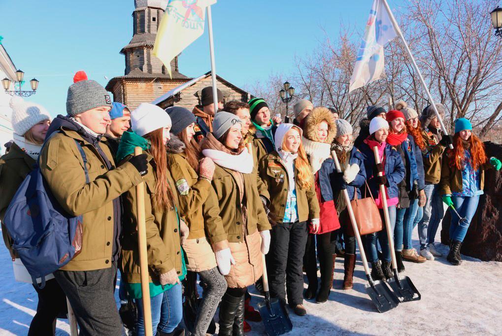 ТУСУР присоединился ксоциальному конкурсу «Снежная вахта»