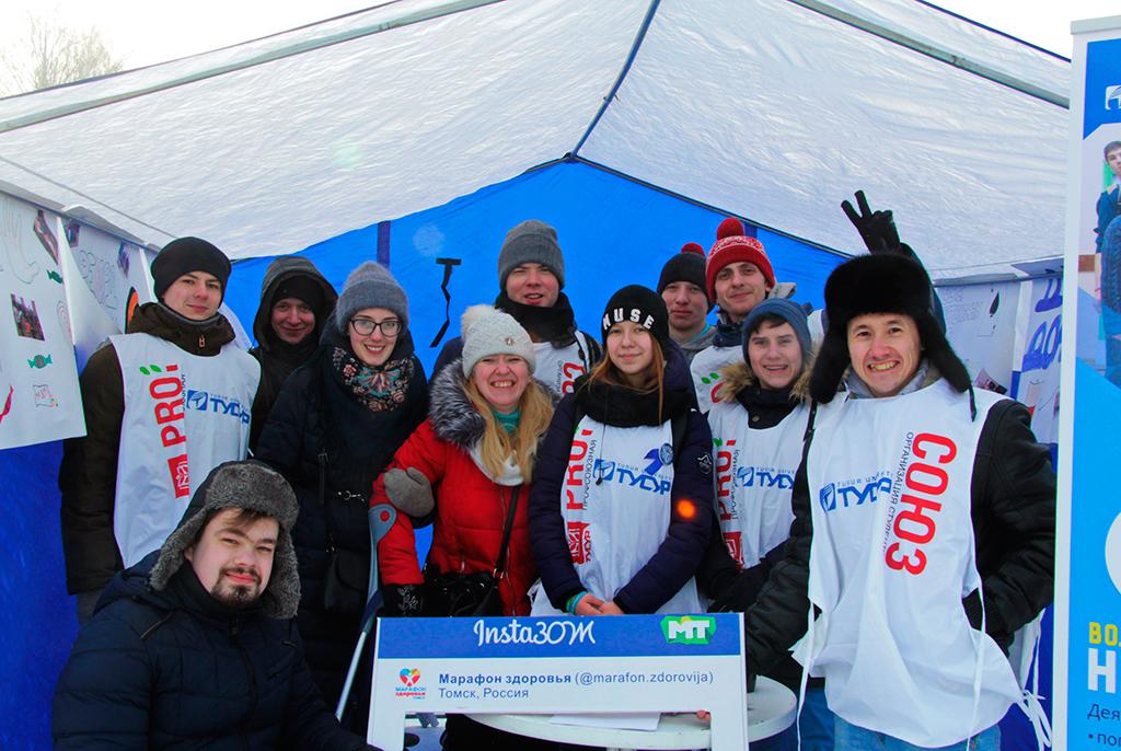 «ДоброДень»: волонтёры ТУСУРа рассказали томичам оважности социальной работы добровольцев
